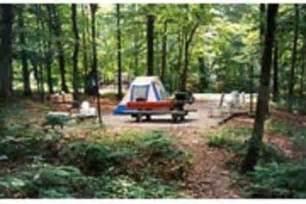 camping  zilpo daniel boone nat  ky