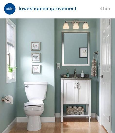 Colors For Small Bathrooms by I The Vanity The Baseboards Everything Sherwin