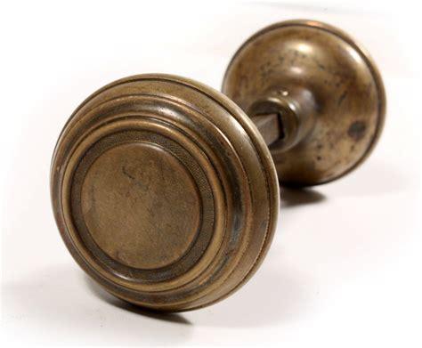 Antique Brass Arts & Crafts Door Hardware Sets With Knobs