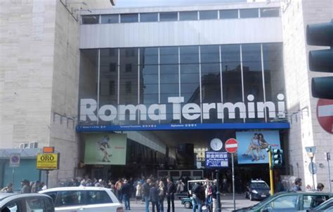 hotels  trains  rome termini station  guide