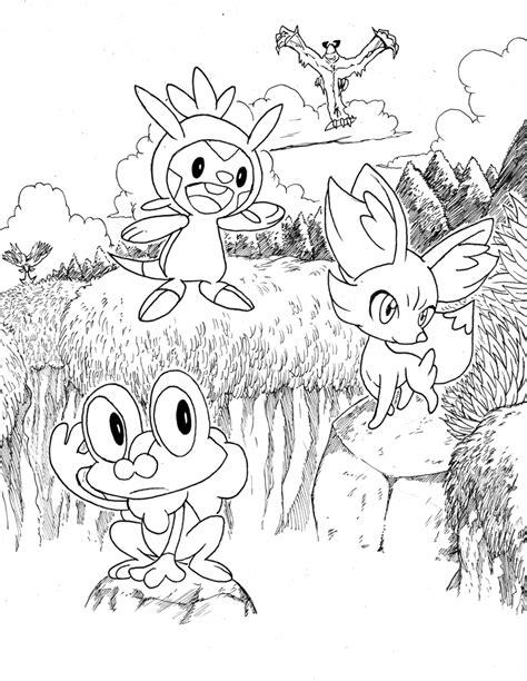 Ce jeu flash, jouable en plein écran, est dans la catégorie des jeux de coloriage, jeux de pokemon. Coloriage pokemon version y - AncensCP