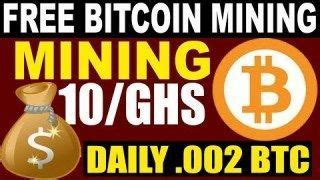 C a l c u l a t i n g. free bitcoin mining sites without investment 2019 Bitcoin mining earn money 0 002 Btc Daily ...