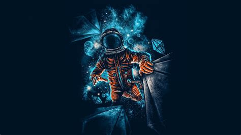 Artistic Cool Wallpapers For Laptop 4k by Artistic Spaceman Blue Orange 4k Wallpaper Best Wallpapers