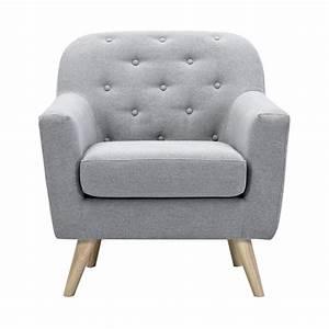 Fauteuil Gris Clair : fauteuil le n gris clair d couvrez nos fauteuils le n gris clair design rdv d co ~ Teatrodelosmanantiales.com Idées de Décoration