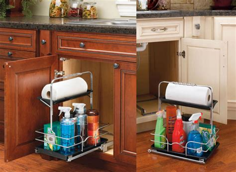 Under Sink Caddy  Pantry And Cabinet Organizers  Houston