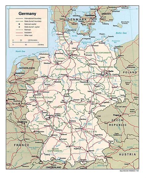 Deutschlandkarte blog: Deutschland karte Region Bild