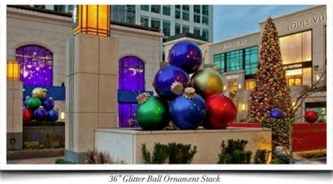 places that sell big christmas lutside balls commercial balls with mosca design 4000 decorations for