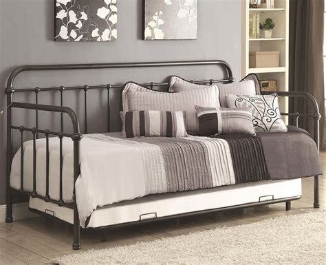 Dark Bronze Metal Daybed W Trundle  Bedroom Furniture. Standard Tile Totowa Nj. Wall Mounted Media Shelf. Craftsman Style Bathroom. Marble Counter Table. Movies 84043. Cheap Kitchen Flooring. Armless Sofa. Walnut Nightstand