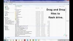 how to copy files to a usb flash drive youtube With documents how to download youtube videos