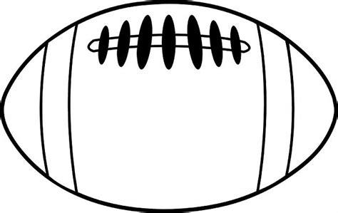 football template printable football black and white football clipart black and white 7 wikiclipart