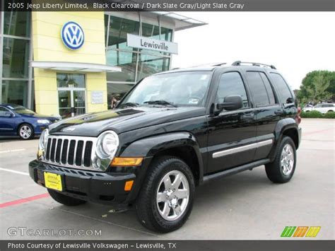 black jeep liberty interior black clearcoat 2005 jeep liberty limited dark slate