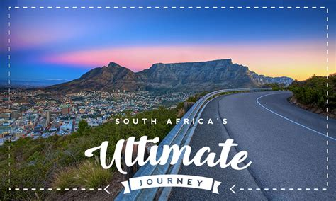 Help create South Africa's ultimate road trip - Getaway ...