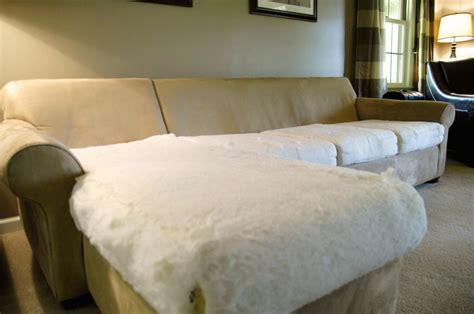 where can i get sofa cushions restuffed how to make an old couch new again for 10 living rich