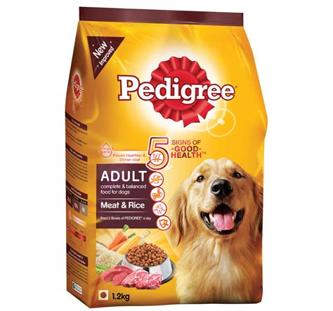 pedigree adult dog food meat rice  kg dogspot
