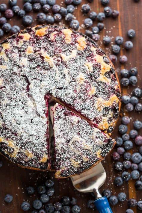 Very close to the coffee. Lemon Blueberry Cake Recipe (VIDEO) - NatashasKitchen.com