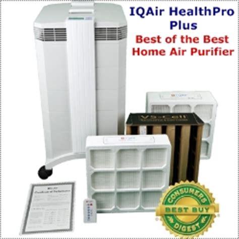 healthpro iq air purifier comparison chart reviews