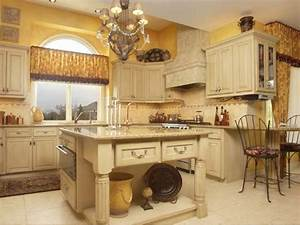 Tuscany kitchen would change wall color with for Kitchen colors with white cabinets with the beatles wall art