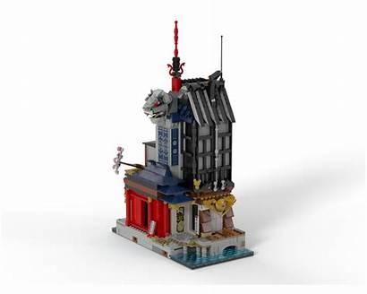 Ninjago Expansion Moc Lego Rebrickable Mocs Build