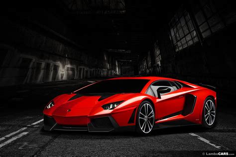 Lamborghini Car : Red And Black Lamborghini Wallpaper 7 Hd Wallpaper