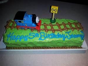 Thomas The Train Cakes Homemade birthday cake Ideas