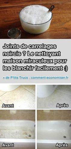 Blanchir Les Joints De Carrelage Bicarbonate by Joints De Carrelages Noircis Le Nettoyant Miraculeux