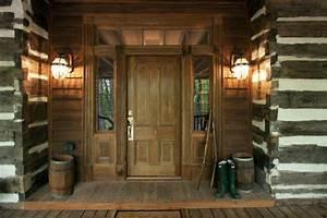 North, Georgia, Log, Cabin, Front, Door