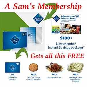 FREE $10 Sam's Club eGift Card for Members - Coupons 4 Utah