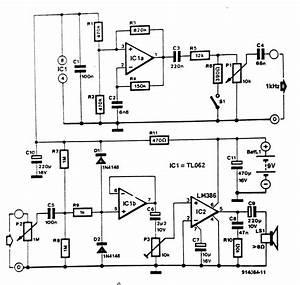 audible tester circuit diagram With ic tester circuit