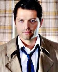 Castiel Supernatural Misha Collins Blue Eyes