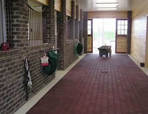 interlocking re cycled rubber pavers take a look at those With brick horse barns