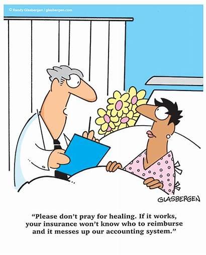 Cartoons Christian Glasbergen Insurance Health Healthcare Cartoon