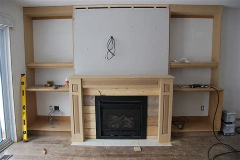 design  build gorgeous diy fireplace built ins