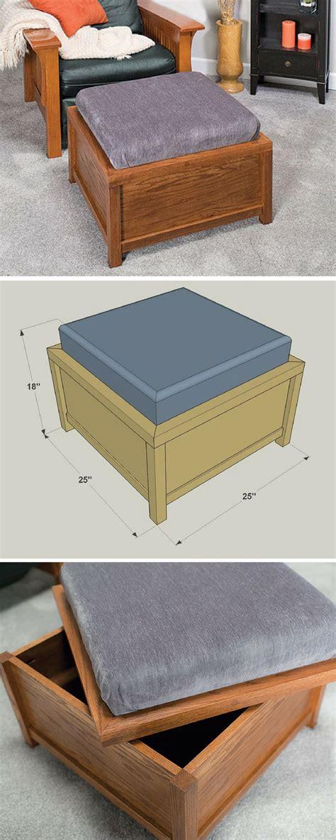 how to make a storage ottoman best 25 small storage ottoman ideas on pinterest diy