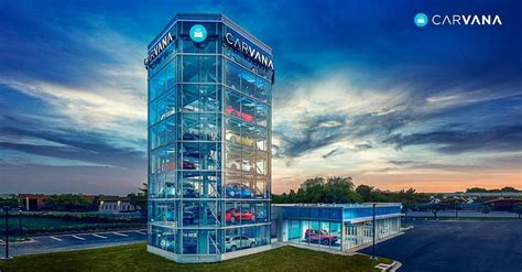 carvana bringing car vending machine  oklahoma city