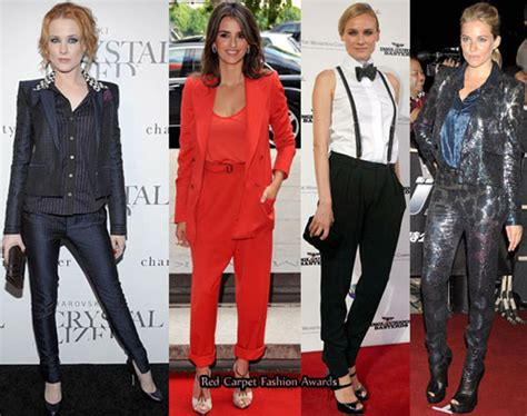 Red Carpet Trends  Pants  Red Carpet Fashion Awards