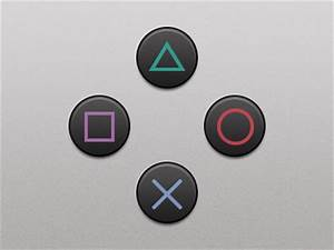 PlayStation Buttons by Craig Erskine - Dribbble