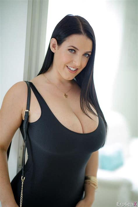 Hot Sex With Natural Busty Pornstar Angela White The
