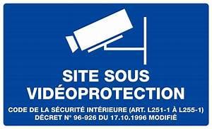 Video Surveillance Maison : panneau zone video surveillance 330x200 bricoman ~ Premium-room.com Idées de Décoration