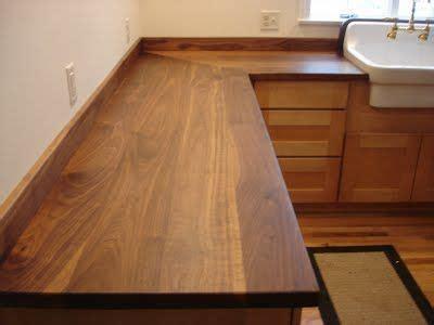 solid wood countertops wide plank  butcher block tops