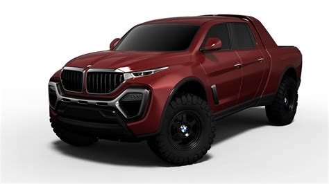 bmw truck pictures a bmw truck design study that doesn t look half bad