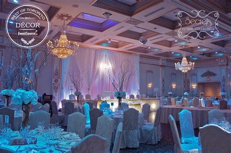 sweet 16 halls a winter wedding reception decoration quot best