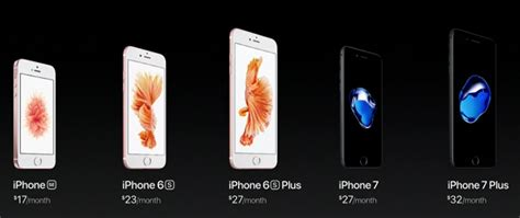 iphone 6 verizon price apple iphone 7 and 7 plus price and release date on