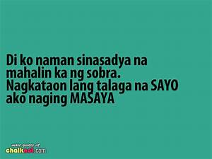 Quotes About Friendship Hugot: Quotes about love tagalog ...