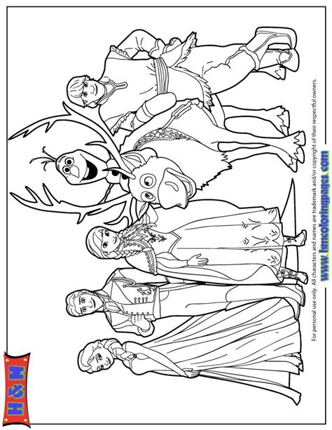 Coloring Frozen All 93 best ideas about coloring page on disney