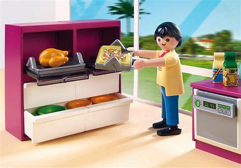 playmobil cuisine playmobil 5582 cuisine avec îlot achat vente univers