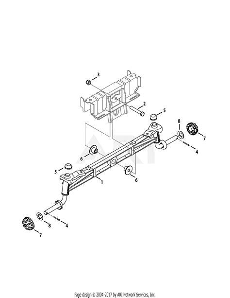 troy bilt wqakq super bronco   parts diagram