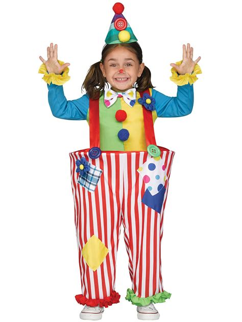 toddler crazy clown costume  fancy dress ball