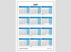 Calendário de de 2020 40SD Michel Zbinden PT