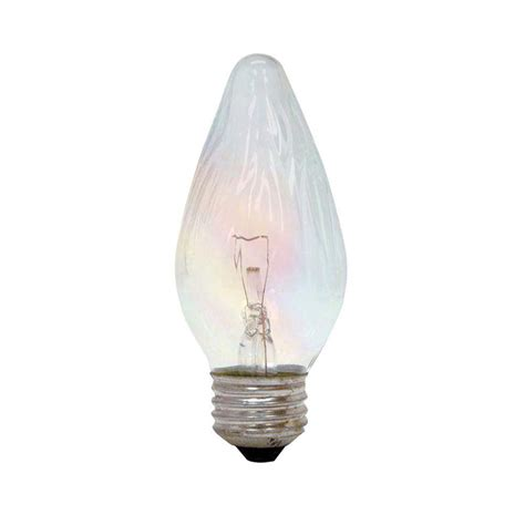 colored light bulbs home depot ge 40 watt incandescent f15 flame tip decorative