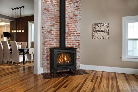 standing ventless gas fireplace visual hunt